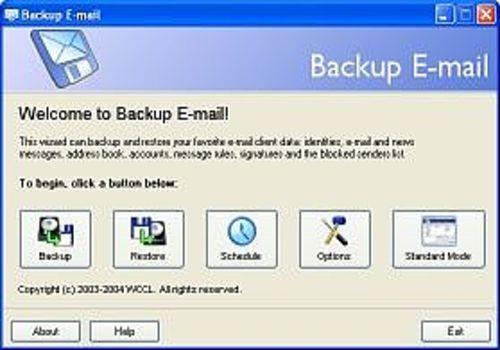 Backup E-mail
