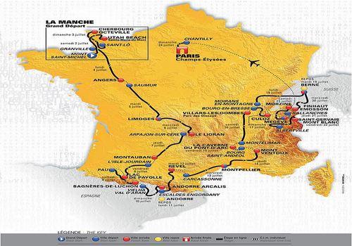 Télécharger Parcours Tour de France 2016 pour Windows | Freeware