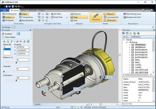 CAD Export VCL
