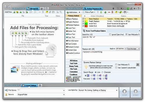 Batch Text File Editor