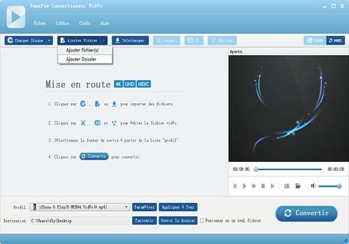 FonePaw Convertisseur Vidéo pour Mac