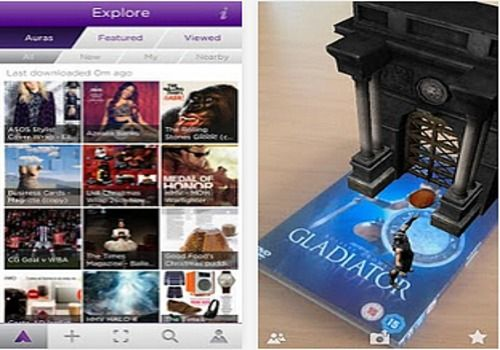 Aurasma iOS