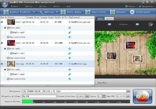 AnyMP4 DVD Créateur