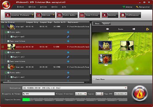 4Videosoft DVD Créateur