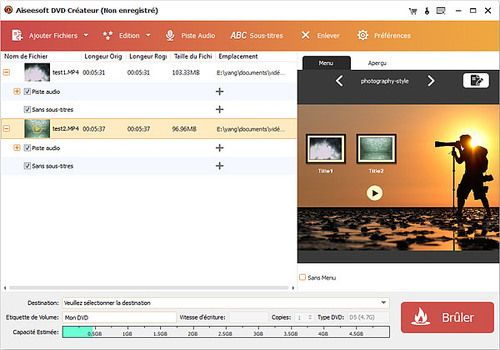 Aiseesoft DVD Créateur