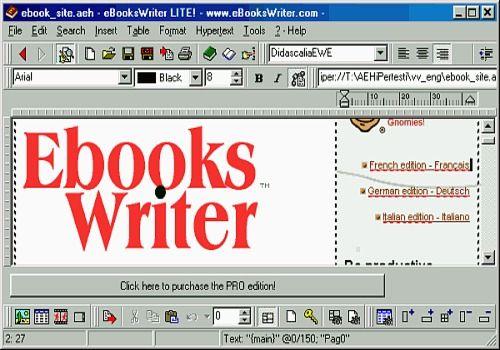 eBooksWriter LITE