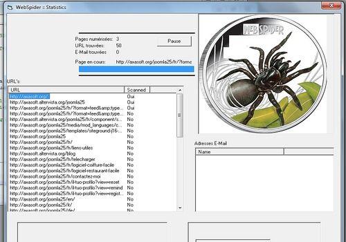 WebMarketing Spider