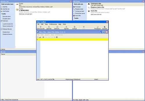 Mass File Editor
