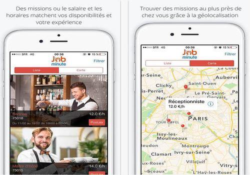 Job Minute iOS