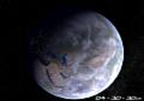 Planet Erde 3D Bildschirmschoner