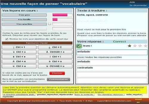 LanguageTutor FR+SP pour Linux