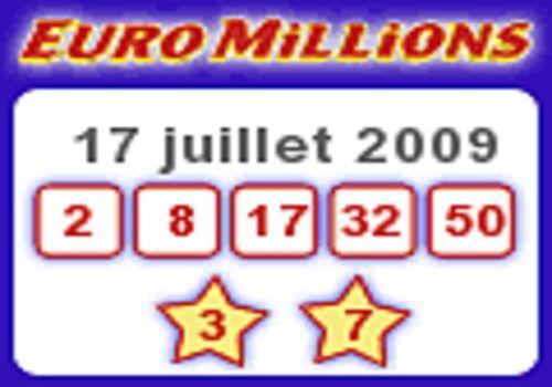 EuroMillions - Gadget résultat