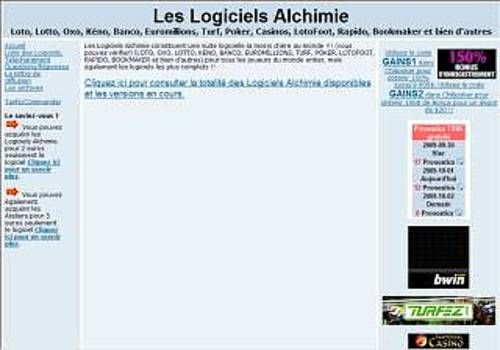 Conversions Alchimie