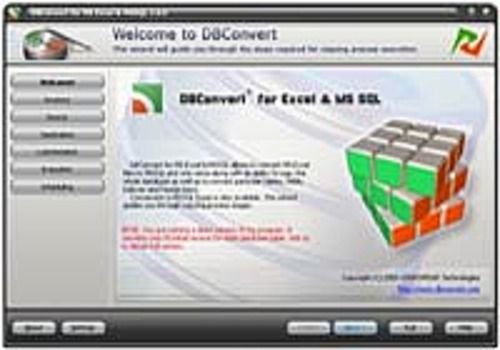 DBConvert for Excel & MS SQL