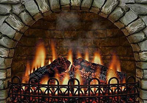 Au coin du feu - Page 2 51af2406-3d-realistic-fireplace-screen-saver-feu-de-cheminee