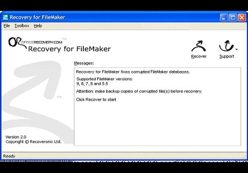 T l charger recovery for filemaker pour windows demo - Telecharger console de recuperation windows 7 ...