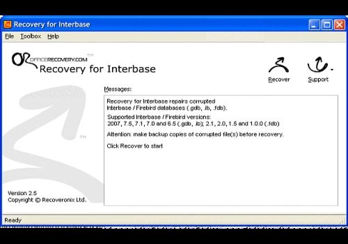 Recovery for Interbase