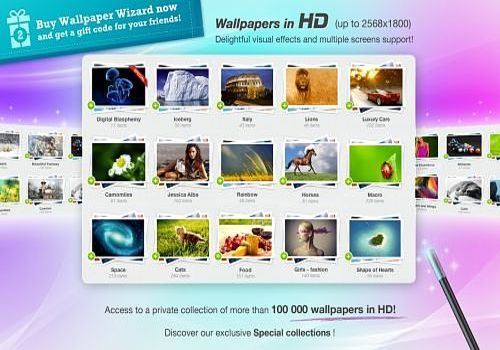 Wallpaper Wizard pour Mac