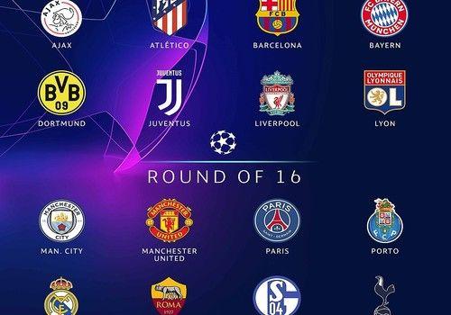 Calendrier de la Ligue des Champions 2018 - 2019 (huitièmes)