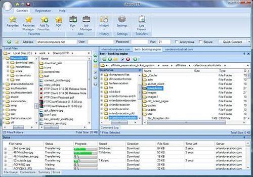 Sherrod FTP Client