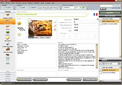 Télécharger Chef Cuistot Pour Windows Shareware - Logiciel gestion cuisine
