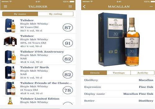 The Whisky App iOs