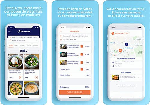 Foodchéri iOS