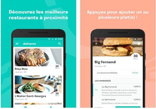 Deliveroo - Restaurants Livrés Android