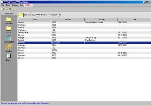 EasyBilling Maker of Sales Document