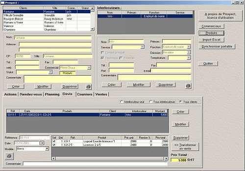T l charger prospect pour windows shareware for Logiciel espace vert
