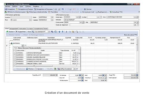 ebp gestion commerciale pro v14