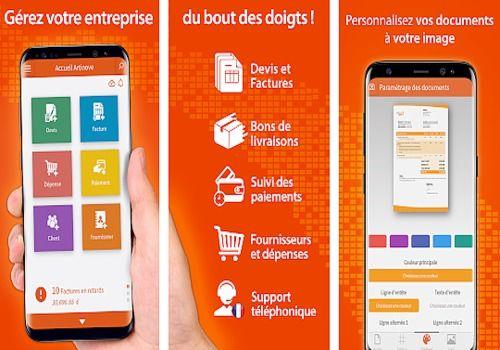 Artinove - Devis, factures et comptabilité facile Android