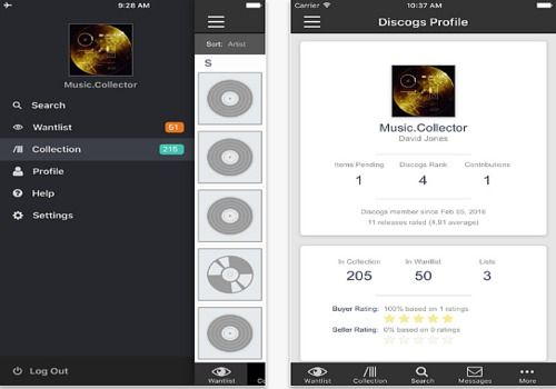 Discogs iOS