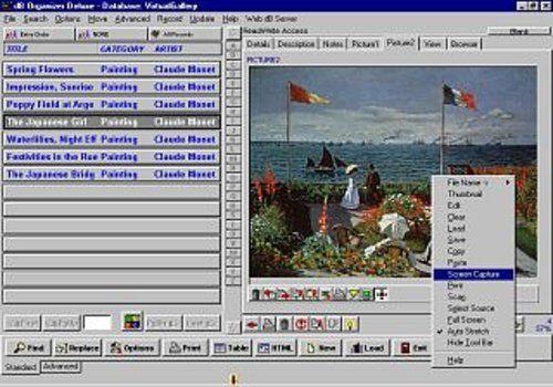 Art Antiques Organizer Deluxe