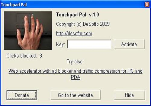 Touchpad Pal