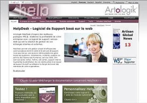 Artologik HelpDesk - Nouvelle version 4.0 !