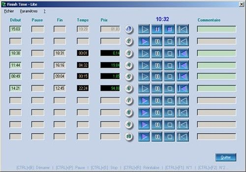logiciel cyber chrono gratuit
