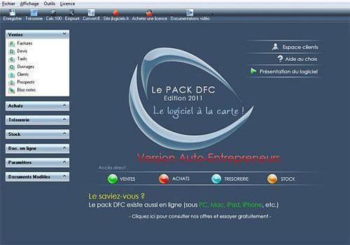 Pack Devis Factures Clients Auto Entrepreneur
