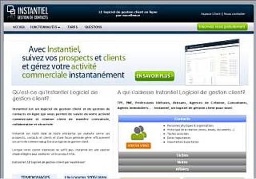 Instantiel Logiciel de gestion client
