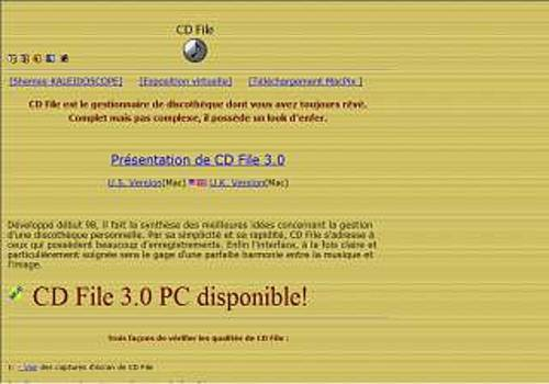 CD File pour Mac