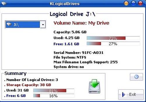 KLogicalDrives