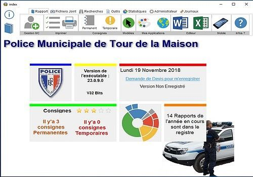 Main Courante Police Municipale 3.0