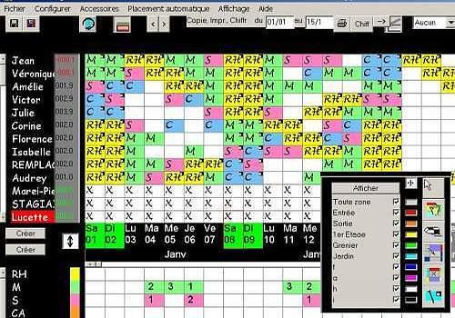 T l charger edt planning pour windows shareware - Grille salaire aide soignante en suisse ...