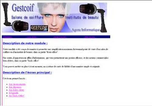 T l charger gestcoif pour windows shareware - Nombre de salons de coiffure en france ...