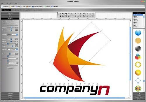 Creation logo 3d logiciel for Logiciel de conception 3d gratuit