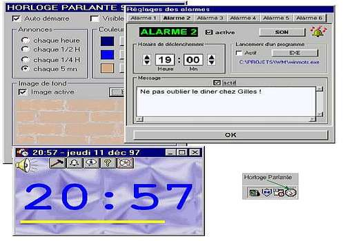 Horloge Parlante 2000