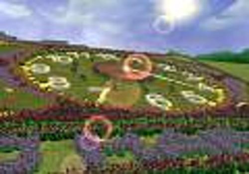 Blumenuhr 3D Bildschirmschoner