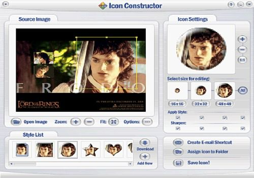 Icon Constructor - advanced icon creator