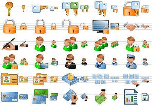 Security Toolbar Icons