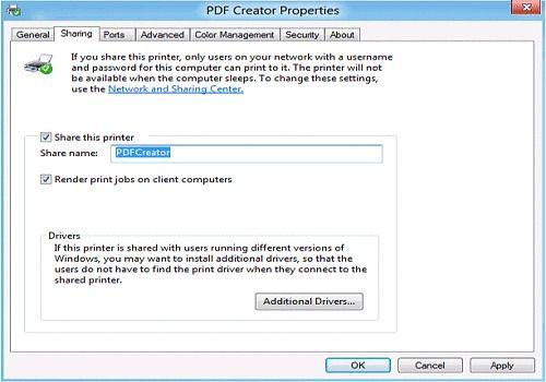 PDF Server for Windows 2012